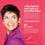 Complimentary Hair Cuts & Styling for Breast Cancer Patients & Survivors Through October
