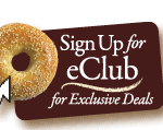 Birthday Freebie – Complimentary Bagel & Cream Cheese from Brueggers