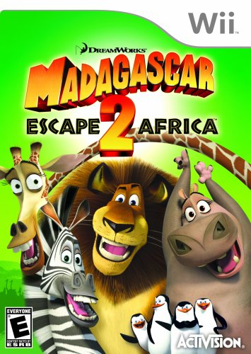 Madagascar 2 Africa - Nintendo Wii