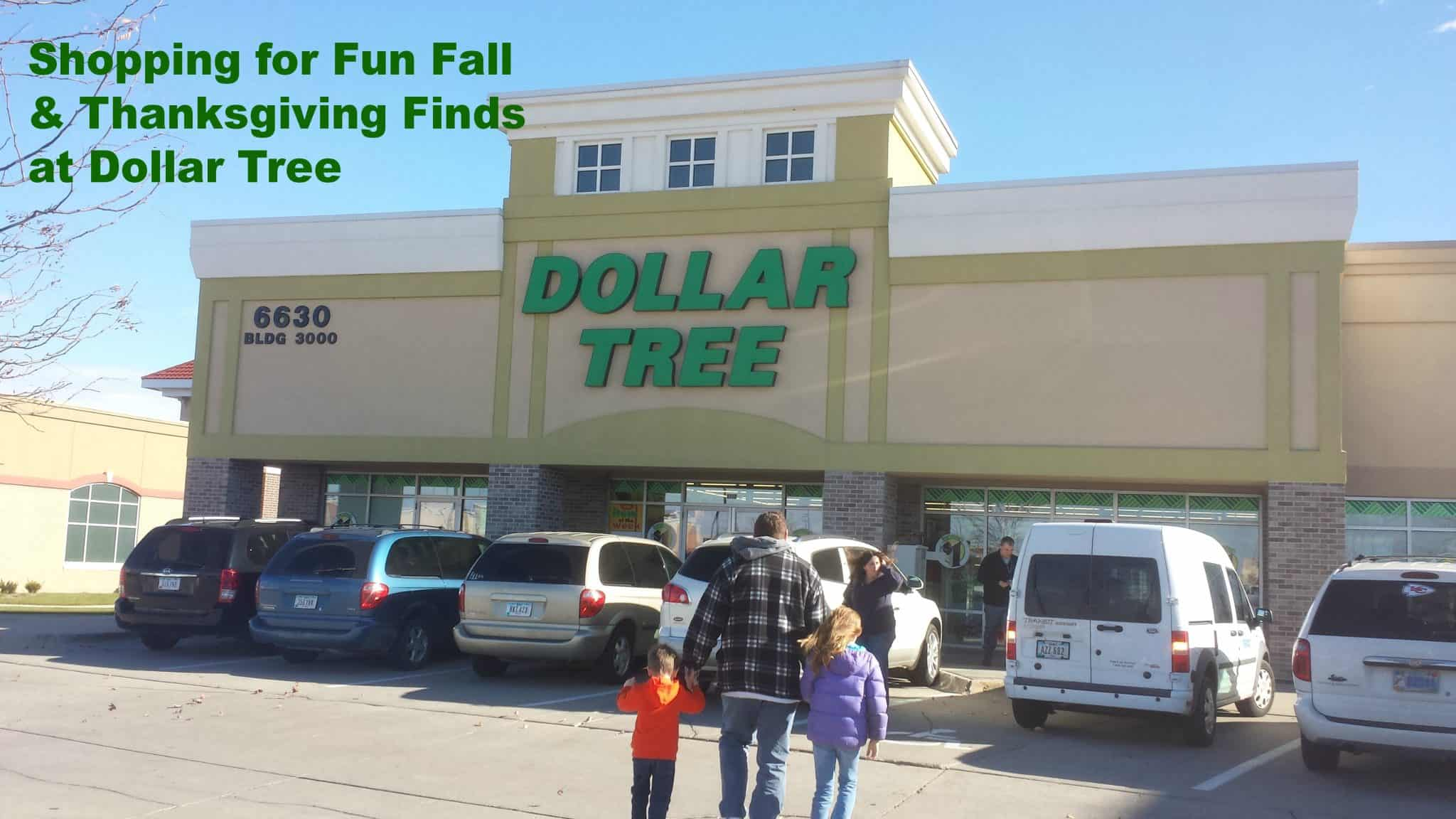 Thanksgiving at Dollar Tree