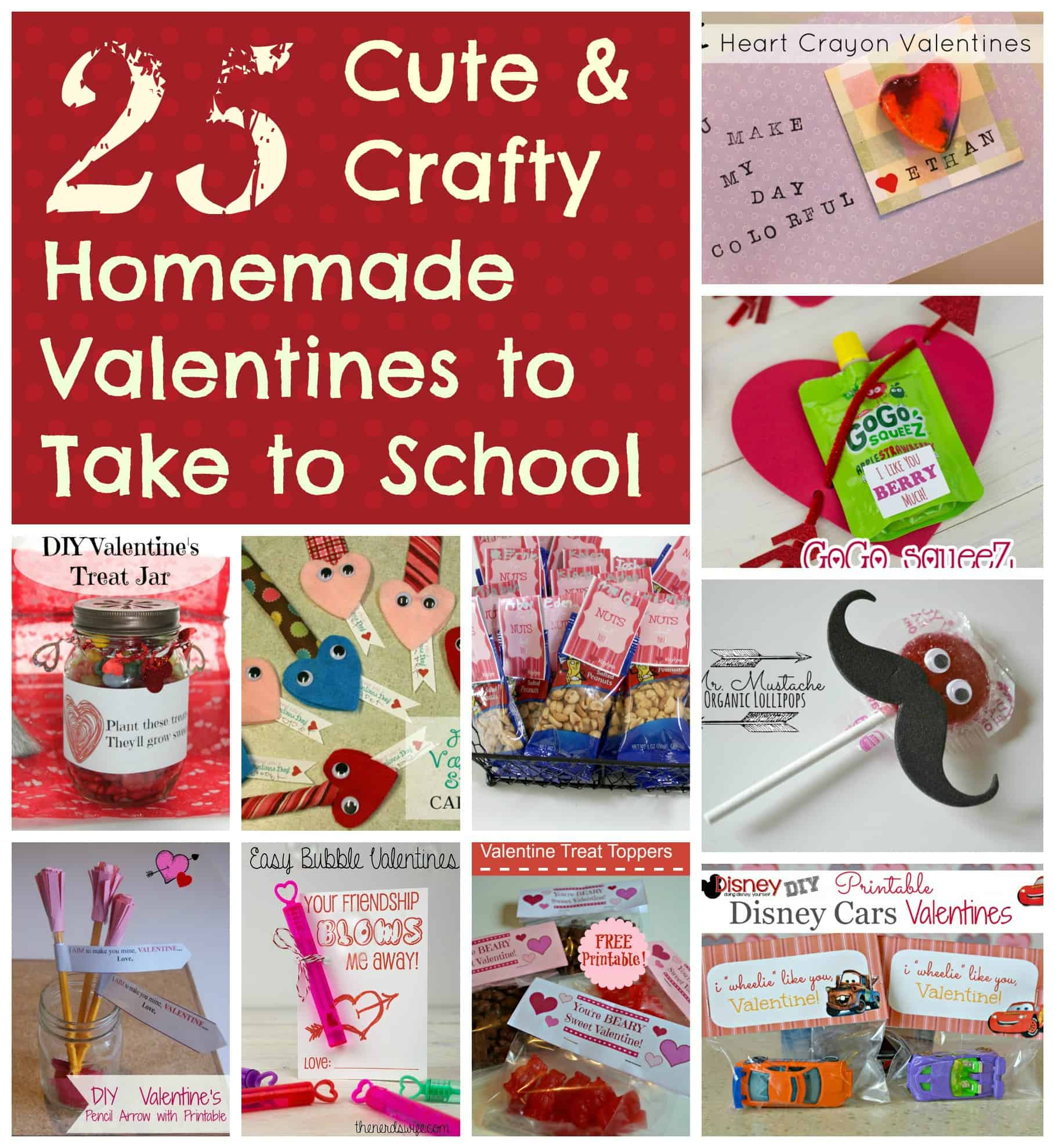All New Diy Valentines For School