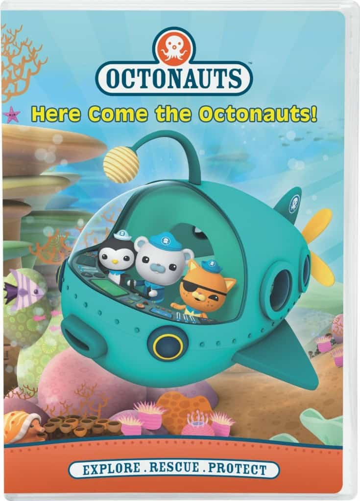 Here Come the Octonauts on DVD