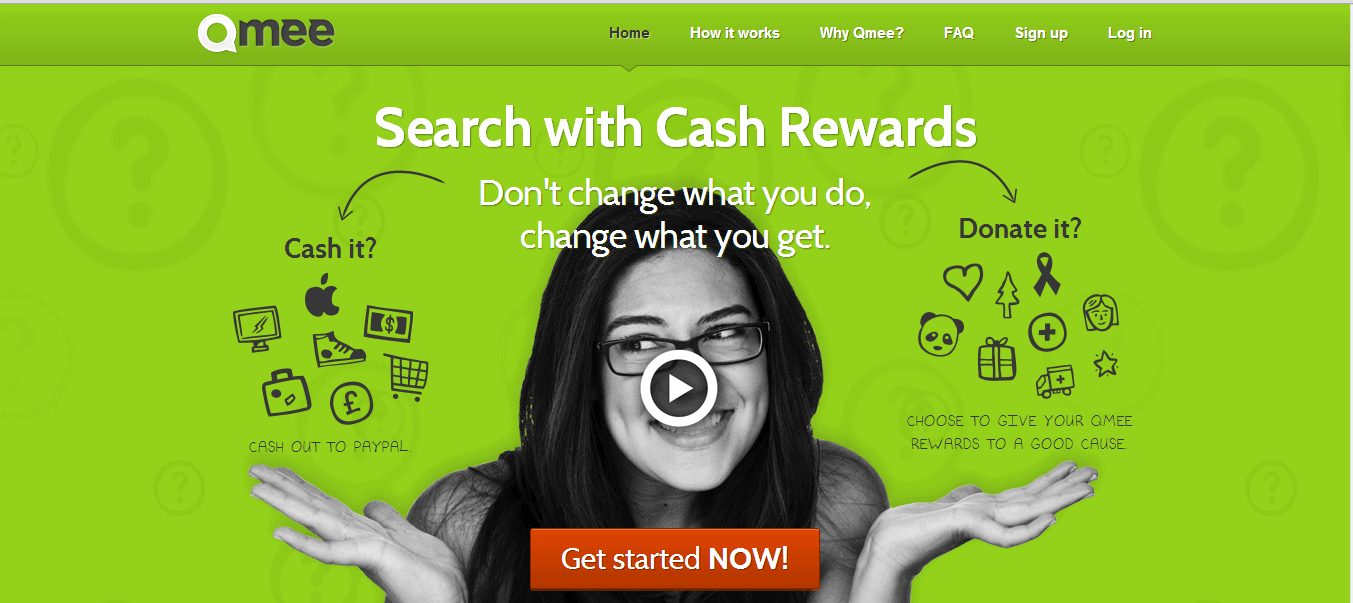 Earn Free Stuff Searching With Qmee