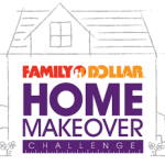 Family Dollar Home decor challenge small