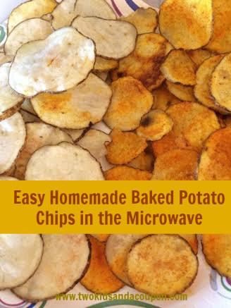 Homemade Baked Chips