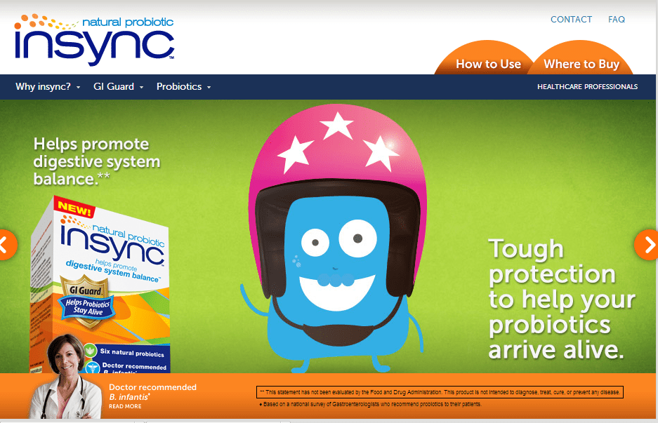 InSync Probiotic #Shop