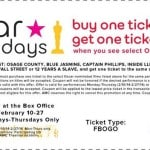 Buy One AMC Movie Ticket Get One Free