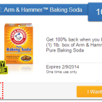 Free Arm and Hammer Baking Soda
