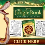 Free The Jungle Book Printable Activity Sheets