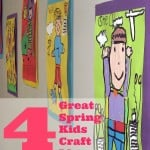Spring Kids Craft Ideas