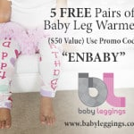 5 Free Pairs of Baby Leg Warmers – $50 Value – Just Pay Shipping