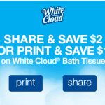 Free White Cloud Toilet Paper at Walmart