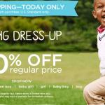 Save 30% at Gymboree Plus Free Shipping on Kids Spring Clothing