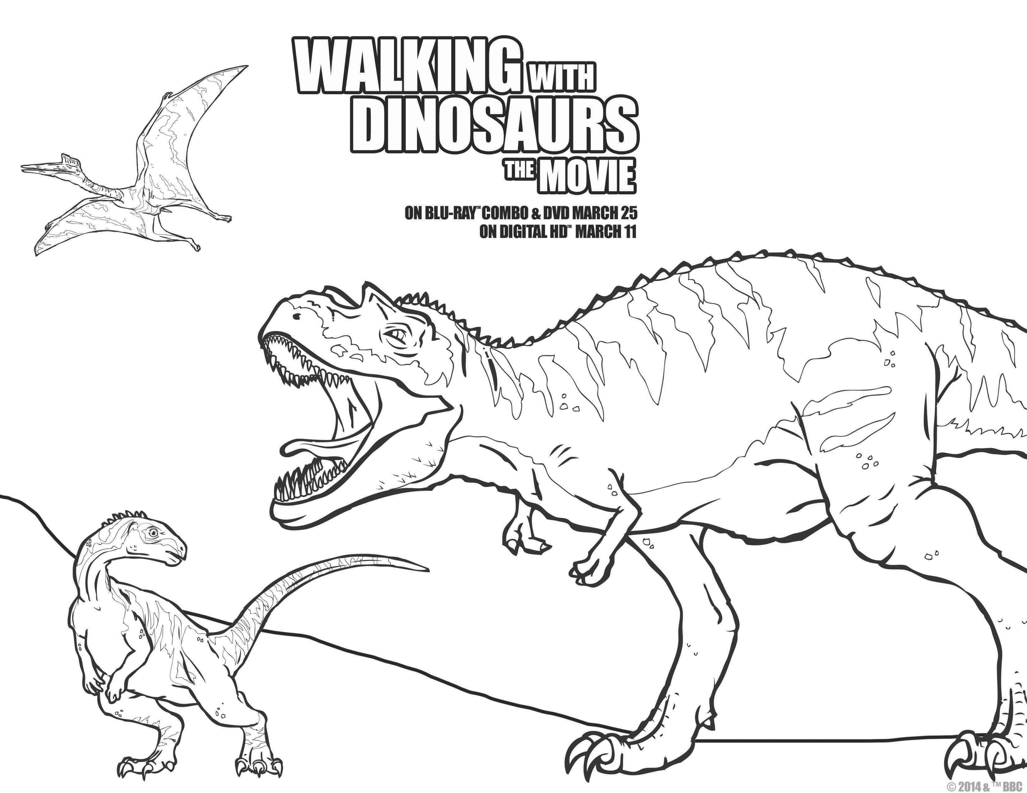 Coloring pages jurassic park - Jurassic Park Coloring Pages Map