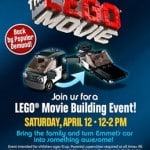 Lego Movie Building Event