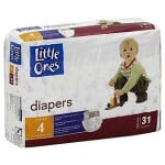 Free Jumbo Package of Little Ones Diapers from Kmart After Cash Back
