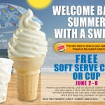 Free Ice Cream Cone at Burger King