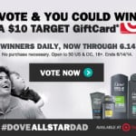 Vote For Your Favorite #AllStarDad and #Win a $10 Target Gift Card