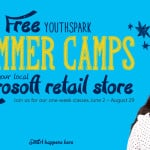 Free Kids Video Game Programming and Movie Making Summer Camps at Microsoft Stores
