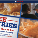 Free Fish and Fries at Long John Silvers