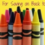 25 Tips for Saving On Back to School