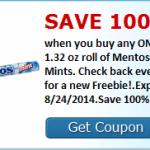 Free Mentos