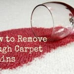 How to Remove Tough Carpet Stains