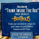 Boxtrolls Amazon Contest