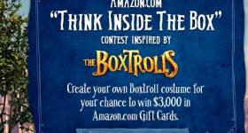 Boxtrolls Amazon Contest