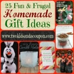 20 Homemade Gift Ideas