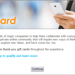 Earn Gift Cards for Sharing Your Opinion w/ Online Shopping Community #ad