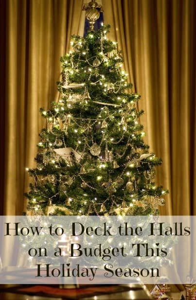 Decorate for the holidays on a budget