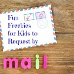 Things kids can get for free in the mail