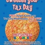 Free Cookie at Great American cooie company
