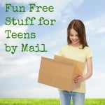 Freebies for teens by mail