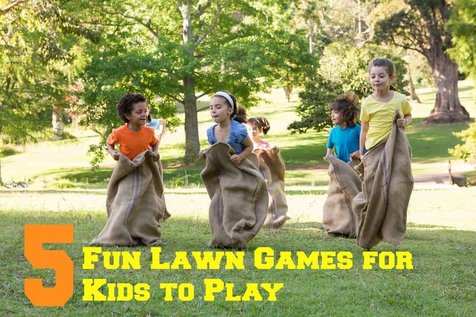 Fun Lawn Games for Kids