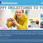 Share Your Child's Smilestones and Win the Ultimate Birthday Party from Orajel