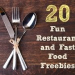 Restaurant Freebies