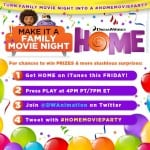Dreamworks HOME Twitter Party