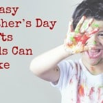 Kids Fathers Day Craft Ideas