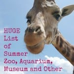 Zoo and Aquarium Coupons