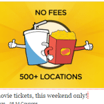 Free movies and popcorn at Carmike Cinemas