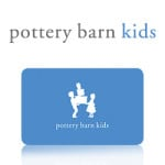 Pottery Barn Kids Gift Card GIveaway