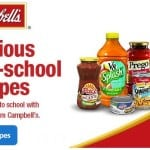 Back to School Recipes and Coupons