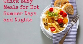 Recipes for Hot Weather