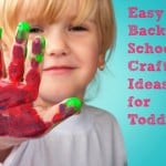 Easy Back to School Craft Ideas for Toddlers