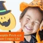 2015 Pumpkin Patch and Corn Maze Coupon List
