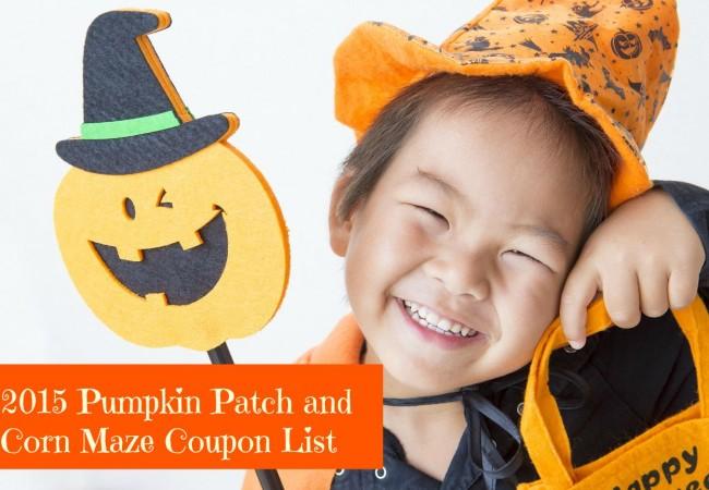 Pumpkin Patch Coupons