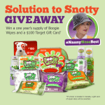 Win a One Year Supply of Boogie Wipes and $100 Target Gift Card #NannyNoseBest #ad