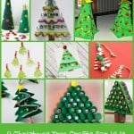 9 Christmas Tree Craft Ideas for Kids